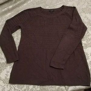 Talbots woman petites brown sweater